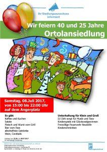 Plakat - Sommerfest