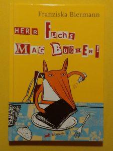 """Buch """"Herr Fuchs mag Bücher"""""""