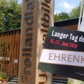 Fledermäuse, Biber, grünes Neukölln, Kräuter: Mein langer Tag der StadtNatur!