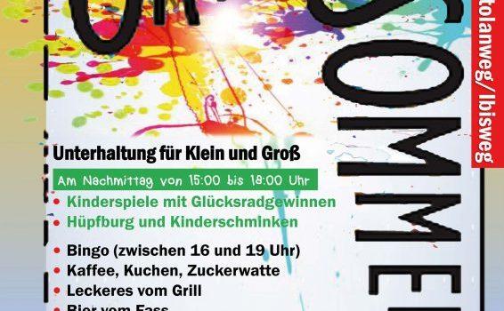 Sommerfest im Ortolanweg: Wer macht mit?